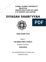 Title Take Home Test Master Programme