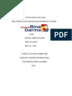 TUGAS RDBMS TI4A