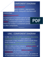 UML - Structure Diagram Component and Deployment and Packag