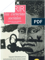 31347204 Wallerstein Immanuel Abrir Las Ciencias Sociales