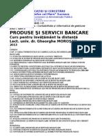 produse & servicii bancare