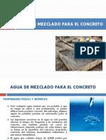 Unidad 1.3 Agua, Concreto, Tipos de Concreto