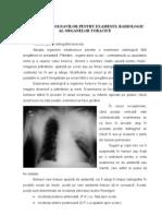 Pregatirea Pentru Examenul Radiologic Al Organelor Toracice