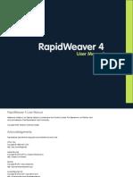 RapidWeaver 4 Manual