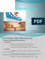Rupee Depreciation