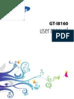 Samsung Galaxy Ace 2 GT-I8160 Manual