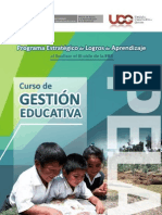 Gestion Educativa PELA