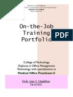 Portfolio PracticumII Maghibon