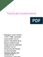 Teoría del transformismo.ppt