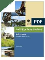STEEL BRIDGE DESIGN (ASSHTO) Redundancy