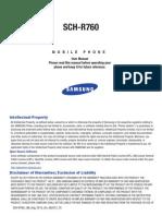Generic CDMA R760 Galaxy S II English User Manual FE19 F5