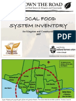 Local Food System Inventory for Kingston and Countryside 2007