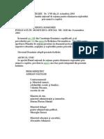 Hotarare Nr. 1769-2004 Privind Aprobarea Planului National de Actiune Pentru Eliminarea Exploatarii Prin Munca a Copiilor