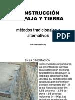 Constr.paja+Tierra