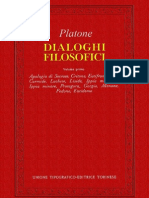 119062731 Platone Dialoghi Filosofici Vol 1 Utet