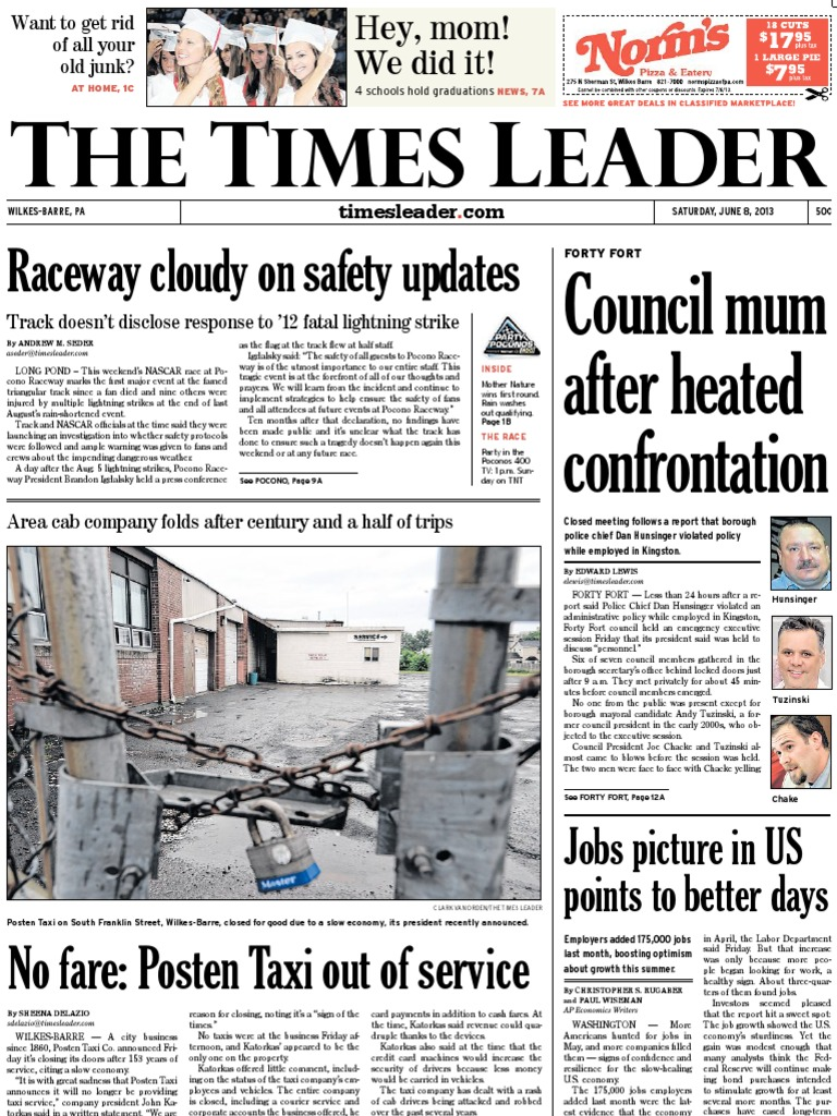 Times Leader 06 08 2013