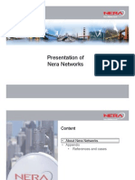 08.1 Presentation of Nera Networks
