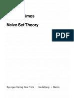 Halmos - Naive Set Theory