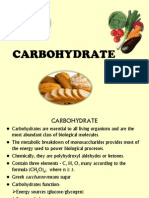 PPT Carbohydrates