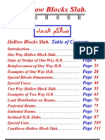 Hollow Blocks Slabs Manual