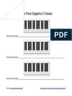 Blank Piano Diagrams 3 Octaves .PDF