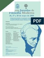 Afiche final Terceras Jornadas de Filosofía Moderna (C)