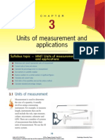 Chapter 3 Units of Measurement and Application