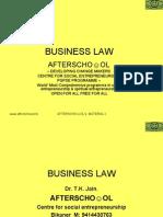 Business Law 19 Nov