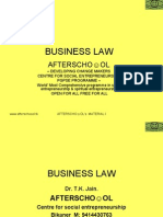 Business Law 20 Nov