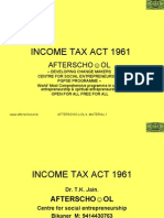 Income Tax Act 1961 18 November