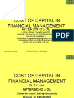 Cost of Capital in Financial Management 4 Nov