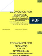 Accounting & Economics for Business 7 November