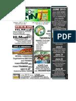 June 9 2013 Newsletter LEAD SERIES Back to School NEHEMIAH