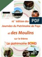 Journee Du Patrimoine de Pays Et Des Moulins 2013 Programme Tarn