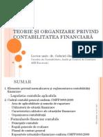 Capitolul I - Teorie Si Organizare Privind Contabilitatea Financiara