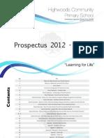 Prospectus 2012 2013
