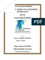 Marisha Pertiwi-X.kj 2Blending Option and Blur
