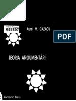 Cazacu AurelTeoria Argumentarii