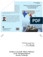 Southeast Asia-India Defence Relations in the Changing Regional Security Landscape