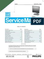 aoc service manual hp l1740 a00 monitor lcd liquid crystal display rh es scribd com
