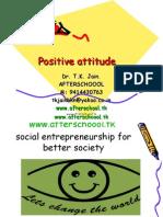 Positive Attitude `