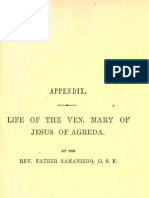 Life of Venerable Mary of Jesus of Agreda by Fr Jose Ximenez Samaniego