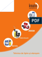 Catalog Tehnica de Lipire Si Etansare