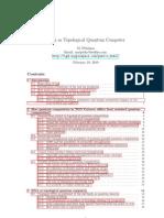 Pitkanen - DNA as Topological Quantum Computer (2010)