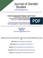 77 Sculpting Population Policies