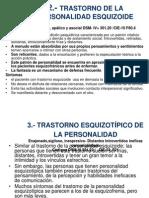 Esquizoide y Esquizotipico