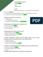 Intrebari Examen - Curs Formator