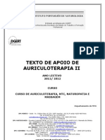 Manual de Auriculoterapia II - 2011 2012