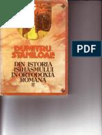 (Dumitru Staniloae) Din Istoria Isihasmului in Ortodoxia Romana