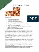 10 Benefícios da Castanha do Pará